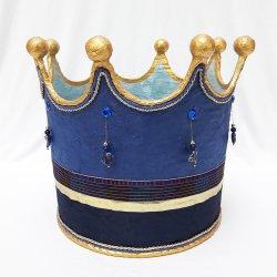 Krone FRIEDRICH königsblau